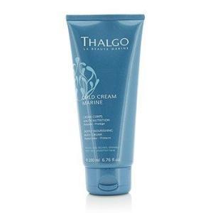 タルゴ Thalgo ボディクリーム コールド クリーム マリン ディープリー ナーリッシング ボディ クリーム For Very Dry、 Sensitive Skin 200ml/6.76oz|belleza-shop