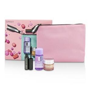 クリニーク Clinique トラベルセット トラベル セット 3pcs+バッグ|belleza-shop