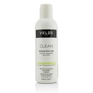ヴェルズ Veld's クレンジング クリーン ミセル スキン ケア インスタント クレンジング ソリュージョン All Skin Types (Even Sensitive) 200ml/6.8oz|belleza-shop