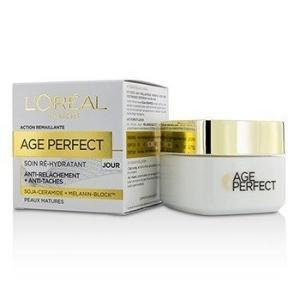 ロレアル L'Oreal クリーム エイジ パーフェクト リハイドレイティング デイ クリーム For Mature Skin 50ml/1.7oz|belleza-shop
