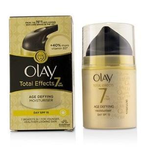 オーレイ Olay 美容液 トータル エフェクト 7in1 エイジ ディファイニング モイスチャライザー SPF 15 37ml / 1.23oz|belleza-shop