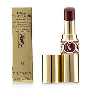 イブサンローラン ルージュ ヴォリュプテ シャイン # 85 Burgundy Love 3.2g|belleza-shop
