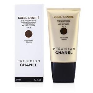 シャネル Chanel サンケア、タンニング プレシジョン ソレイユ アイデンティティ パーフェクトカラー フェイス セルフタナー SPF8 - Dore(Golden) 50ml/1.7|belleza-shop