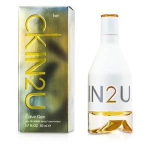 カルバンクライン Calvin Klein 香水 IN2U オードトワレ スプレー 50ml/1.7oz|belleza-shop