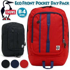 CHUMS リュック チャムス Eco Front Pocket Day Pack エコ フロント ...