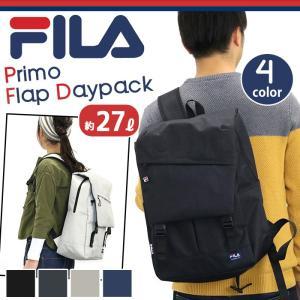 フィラ FILA プリモ フラップ リュック メンズ レディース 男女兼用 ブラック bellezza