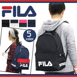 フィラ FILA スターリッシュ リュック メンズ レディース 男女兼用 ブラック bellezza