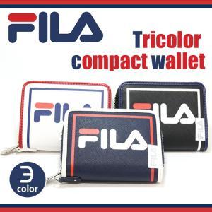 フィラ FILA トリコロール 二つ折り財布 財布 メンズ レディース 男女兼用 bellezza