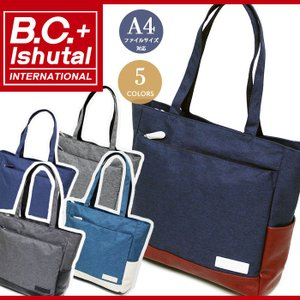 B.C.+Ishutal トートバッグ ビーシー イシュタル 送料無料 トラベルバッグ|bellezza