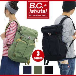 B.C.+Ishutal リュック ビーシー イシュタル 送料無料 デイパック|bellezza