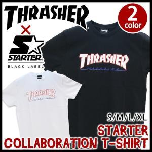 メンズ Tシャツ スラッシャー THRASHER 半袖 おしゃれ STARTER|bellezza