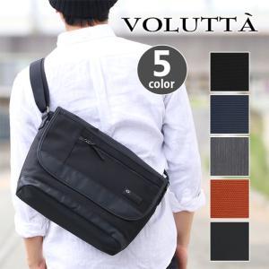 メンズ ショルダーバッグ A4 メッセンジャーバッグ 斜めがけ VOLUTTA|bellezza