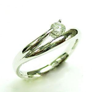 プラチナ900 ダイヤモンド ラウンドブリリアントデザインリング|bellhouse-suzuya