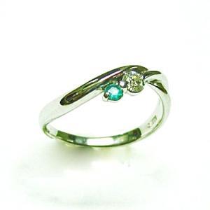 k18ホワイトゴールド パライバトルマリン ダイヤモンドデザインリング|bellhouse-suzuya