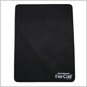 Fate Clad (フェイトクラッド)10周年記念 牛革製マウスパッド( スクエア/ブラック)|bellmart