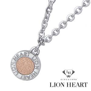 ライオンハート LION HEART ネックレス/ペンダント レディース ステンレス製 ローズゴールドIP 04N126SL