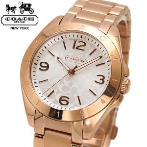 コーチ COACH 腕時計 TRISTEN トリステン レディース ローズゴールド シルバー文字盤 14501780|bellmart