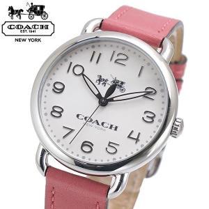 コーチ COACH 腕時計 レディース DELANCY デランシー 36mm ホワイト文字盤 14502717|bellmart