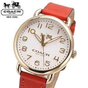 コーチ COACH 腕時計 レディース DELANCY デランシー 36mm アイボリー文字盤 14502719|bellmart
