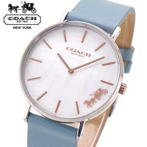 コーチ COACH 腕時計 レディース ペリー PERRY 36mm ホワイトシェル文字盤 14503271|bellmart