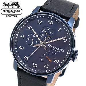 コーチ COACH 腕時計 メンズ Bleecker ブリーカー ネイビー文字盤 14602353|bellmart