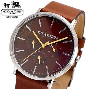 コーチ COACH 腕時計 メンズ VARICK ヴァリック ブラウン文字盤 14602388|bellmart