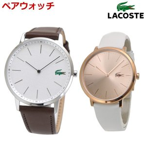 ラコステ LACOSTE 腕時計 ペアウォッチ(2本セット)メンズ レディース 41mm & 36mm ホワイト & ピンクゴールド文字盤 2011002 2000949 bellmart