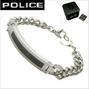 ポリス POLICE ブレスレット・ステンレススチール 25141BSS01 bellmart