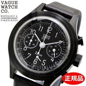 クリーナープレゼント VAGUE WATCH Co. ヴァーグ ウォッチ カンパニー 腕時計 2EYES(ツーアイズ) クロノグラフ メンズ レディース ユニセックス 2C-L-003 bellmart
