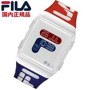 FILA フィラ ウォッチ FILASTYLE フィラスタイル デジタル メンズ レディース ユニセックス レッド x ブルー 腕時計 38-105-005 bellmart