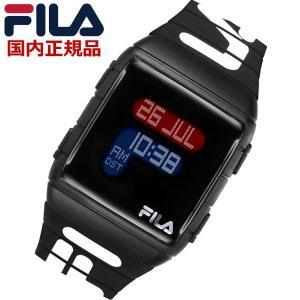 FILA フィラ ウォッチ FILASTYLE フィラスタイル デジタル メンズ レディース ユニセックス ブラック 腕時計 38-105-006 bellmart