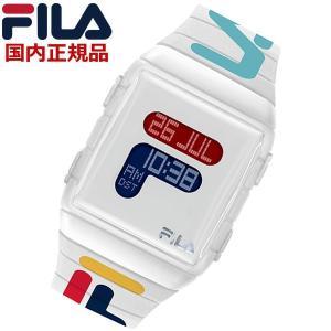 FILA フィラ ウォッチ FILASTYLE フィラスタイル デジタル メンズ レディース ユニセックス ホワイト 腕時計 38-105-007 bellmart