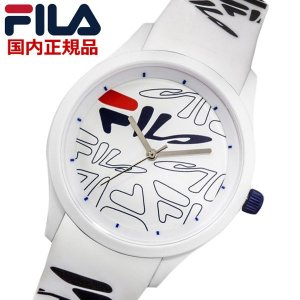 FILA フィラ ウォッチ FILASTYLE フィラスタイル メンズ レディース ユニセックス ホワイト 腕時計 38-129-204 bellmart
