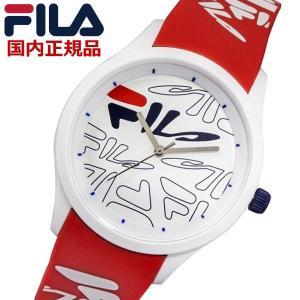 FILA フィラ ウォッチ FILASTYLE フィラスタイル メンズ レディース ユニセックス レッド 腕時計 38-129-206 bellmart