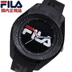 FILA フィラ ウォッチ FILASTYLE フィラスタイル メンズ レディース ユニセックス ブラック 腕時計 38-160-004 bellmart