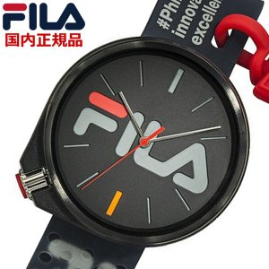 FILA フィラ ウォッチ FILASTYLE フィラスタイル メンズ レディース ユニセックス ブラック 腕時計 38-199-002 bellmart
