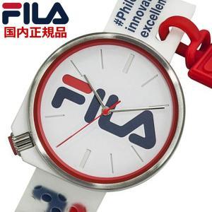 FILA フィラ ウォッチ FILASTYLE フィラスタイル メンズ レディース ユニセックス ホワイト 腕時計 38-199-004 bellmart