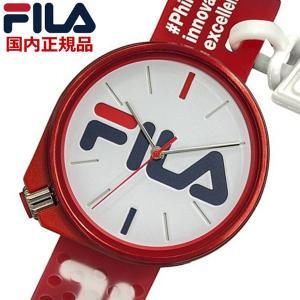 FILA フィラ ウォッチ FILASTYLE フィラスタイル メンズ レディース ユニセックス レッド 腕時計 38-199-010 bellmart