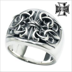 ディールデザイン DEAL DESIGN GLクロスリング・ラージ 指輪 393209|bellmart