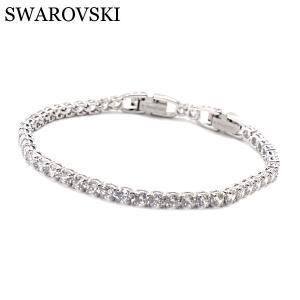 スワロフスキー SWAROVSKI ブレスレット テニスブレスブレスレディース Tennis Deluxe 5409771|bellmart