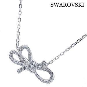 スワロフスキー SWAROVSKI ペンダント ネックレス Lifelong Bow 5440643|bellmart