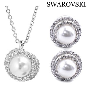 スワロフスキー SWAROVSKI Originally ペンダント & ピアスセット レディース 5479911|bellmart