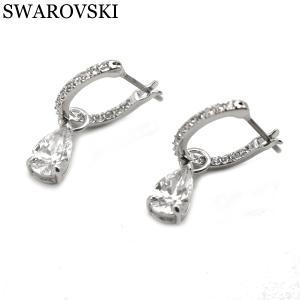 スワロフスキー SWAROVSKI Attract Pear Mini ピアス レディース 両耳 5563119|bellmart