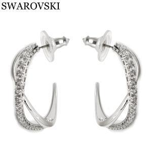 スワロフスキー SWAROVSKI Twist ピアス レディース 両耳 5563908|bellmart