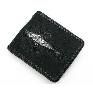 Fate Clad(フェイトクラッド)シャーク革・ウォレット(2つ折財布) 40%OFF 70-43-004|bellmart