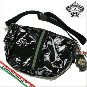 オロビアンコ (OROBIANCO・TRUCCO NASTRA)ショルダーバッグ(PVC・ブラック) オロビアンコ 7028166|bellmart
