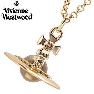 ヴィヴィアンウエストウッド Vivienne Westwood タイニー オーブ ペンダント ネックレス ゴールド TINY ORB 752014B/2|bellmart