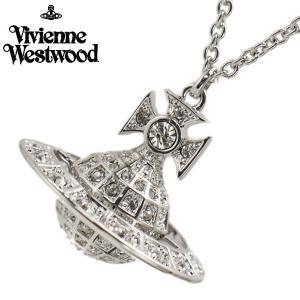 ヴィヴィアンウエストウッド Vivienne Westwood  ミニーオーブ ペンダント ネックレス シルバー ユニセックスMinnie Orb Pendant 752327B/1|bellmart