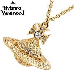 ヴィヴィアンウエストウッド Vivienne Westwood  ミニーオーブ ペンダント ネックレス イエローゴールド ユニセックスMinnie Orb Pendant 752327B/2|bellmart