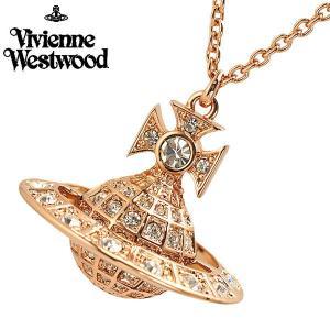 ヴィヴィアンウエストウッド Vivienne Westwood  ミニーオーブ ペンダント ネックレス ローズゴールド ユニセックスMinnie Orb Pendant 752327/3|bellmart